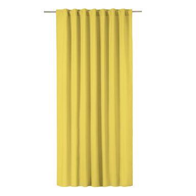 Zasłona Pharell żółta 140 x 280 cm na taśmie Inspire