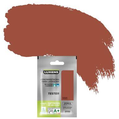 Tester farby KUCHNIA I ŁAZIENKA 25 ml Dyniowe tiramisu LUXENS