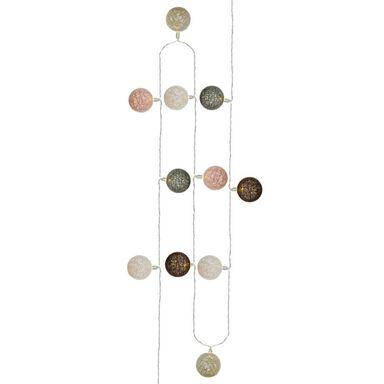 Cotton balls 60 szt. 8.85 m bordowo-beżowe