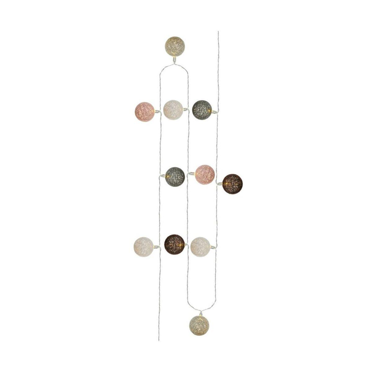 Cotton Balls 60 Szt 8 85 M Bordowo Bezowe Swieczniki I Dekoracje Swiateczne W Atrakcyjnej Cenie W Sklepach Leroy Merlin