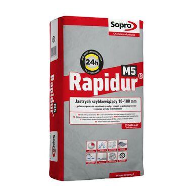 Wylewka szybkowiążąca RAPIDUR M5 25 kg SOPRO