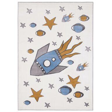 Dywan dziecięcy Raketo perłowy 160 x 230 cm
