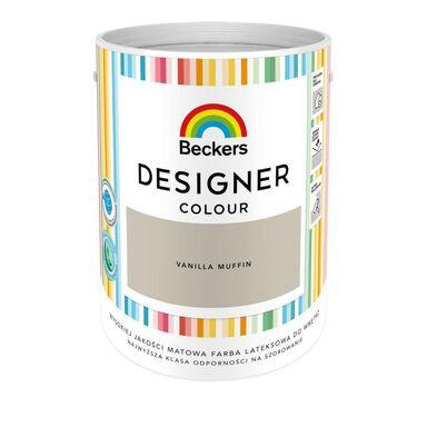 Farba wewnętrzna DESIGNER COLOUR 5 l Vanilla Muffin BECKERS