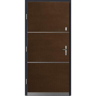 Drzwi wejściowe WEGA Merbau 90 Lewe