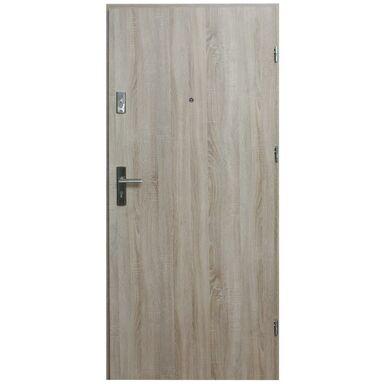 Drzwi zewnętrzne MDF Hektor 32 dB Dąb Sonoma 90 Prawe otwierane do wewnątrz Domidor