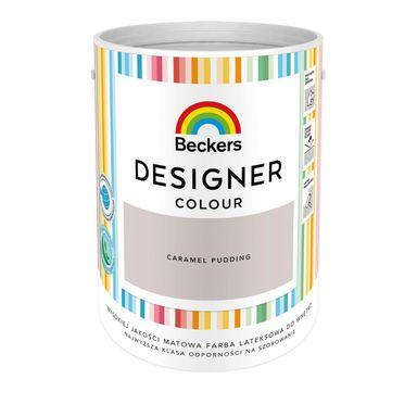 Farba wewnętrzna DESIGNER COLOUR 5 l Caramel Pudding BECKERS