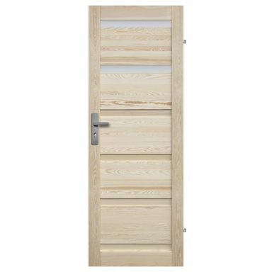 Skrzydło drzwiowe drewniane GENEWA 90 Prawe RADEX