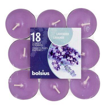 Podgrzewacz zapachowy AROMATIC lawenda 18 szt. BOLSIUS