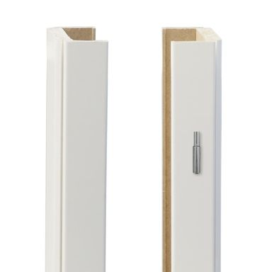 Baza prawa ościeżnicy regulowanej Biała lakierowana Zara 160 - 180 mm Classen