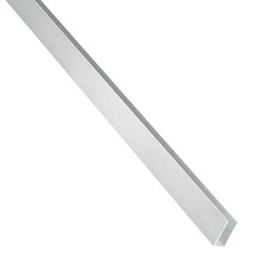 Ceownik aluminiowy 2.6 m x 15 x 10 mm surowy srebrny STANDERS
