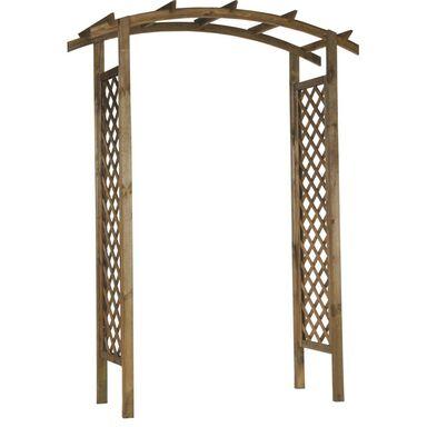 Pergola ogrodowa 157 x 58 x 225 cm drewniana NIVE NATERIAL