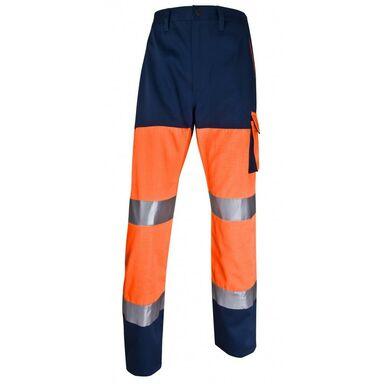 Spodnie odblaskowe pomarańczowe PHPANOMTM DELTA PLUS