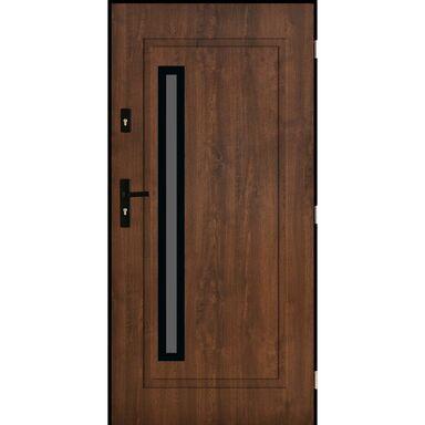 Drzwi wejściowe PARYŻ Orzech 90 Prawe PANTOR