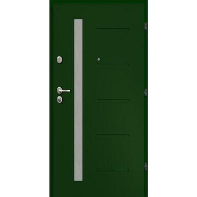Drzwi wejściowe ANTWERPIA Zielone 80 Prawe LOXA