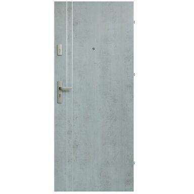Drzwi zewnętrzne drewniane Iryd 01 Industry 80 Prawe Domidor