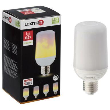 Żarówka dekoracyjna LED E27 (230 V) 0.7-2.5 W Efekt płomienia LEXMAN