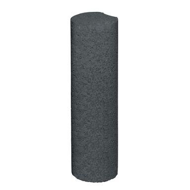 Palisada betonowa OKRĄGŁA Grafitowa 40 cm BAUMABRICK