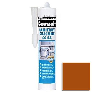 Silikon SANITARNY CS-25 Ceglasty CERESIT