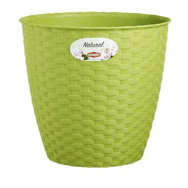 Osłonka plastikowa 29 cm zielona VASO NATURAL RIM KOWALCZYK