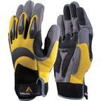Rękawice robocze ze skóry syntetycznej VV902JA10  r. 10  DELTA PLUS