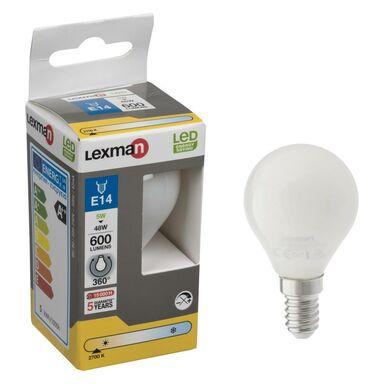 Żarówka LED E14 (230 V) 5.5 W 600 lm Ciepła biel LEXMAN