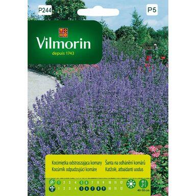 Nasiona kwiatów Kocimiętka odstraszająca komary VILMORIN