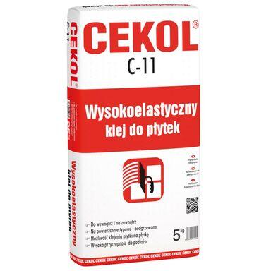 Klej do płytek WYSOKOELASTYCZNY C-11 5 kg CEKOL
