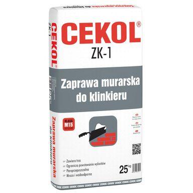 Zaprawa murarska ZK-1 Grafitowa 25 kg CEKOL