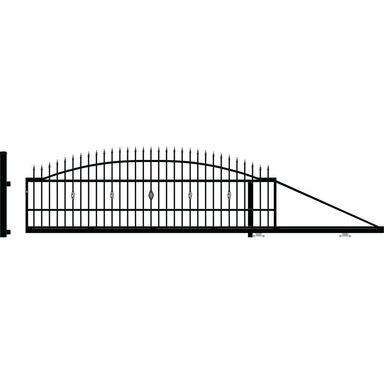 Brama przesuwna prawa BOLTON 400cm POLARGOS