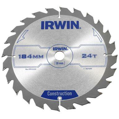 Tarcza do pilarki tarczowej 184MM/24T/16 IRWIN