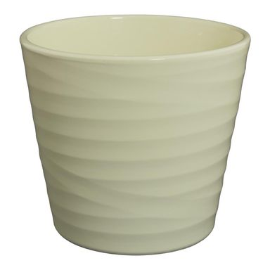 Osłonka ceramiczna 32 cm kremowa 44232/023 CERMAX