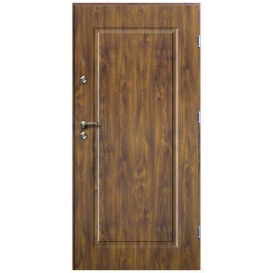 Drzwi wejściowe SQUARE Złoty dąb 80 Prawe