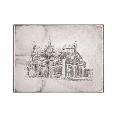 Plakat Duży Kościół 30 x 40 cm