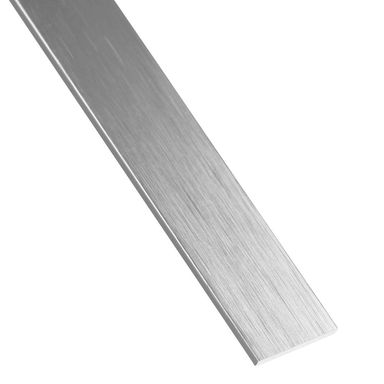 Płaskownik aluminiowy 2.6 m x 20 x 2 mm anodowany srebrny