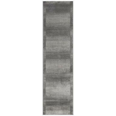 Chodnik dywanowy Lorin popielaty 80 x 300 cm