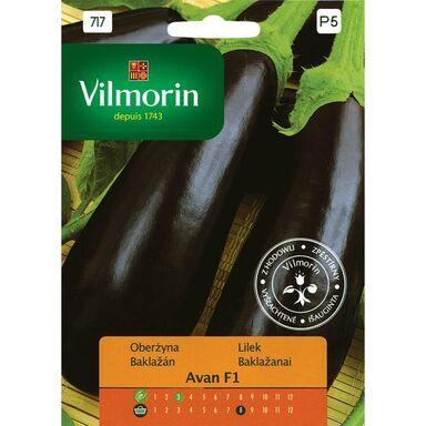 Nasiona warzyw AVAN MIESZANIEC F1 Oberżyna VILMORIN