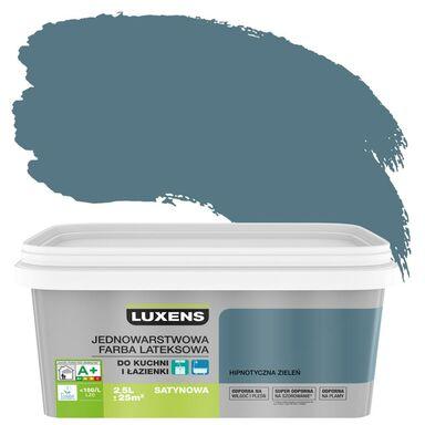 Farba wewnętrzna KUCHNIA I ŁAZIENKA 2,5 l Hipnotyczna głębia LUXENS