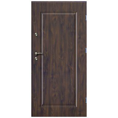 Drzwi wejściowe SQUARE Orzech 90 Prawe