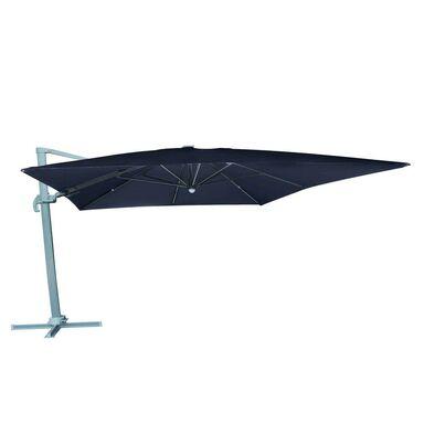 Parasol ogrodowy 300 x 400 cm antracytowy