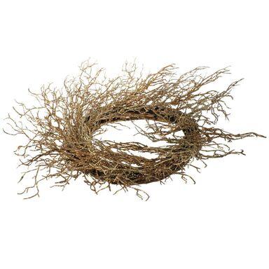 Wianek świąteczny 80 cm bożonarodzeniowy złoty