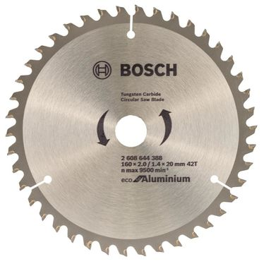 Tarcza do pilarki Eco for Aluminium śr. 160.0 mm  42T BOSCH