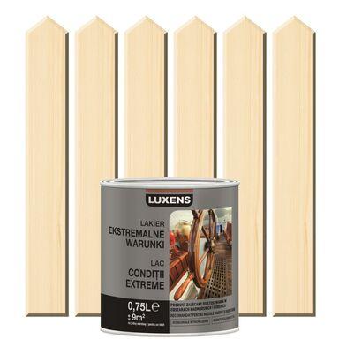 Lakier zewnętrzny do drewna EKSTREMALNA ODPORNOŚĆ 0,75 l LUXENS