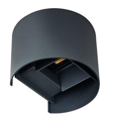 Kinkiet zewnętrzny REKA IP54 grafit okrągły LED KANLUX