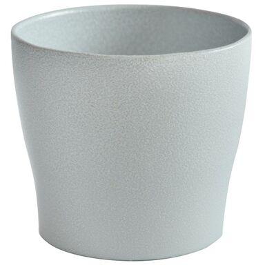 Doniczka ceramiczna 16 cm biała TOSKANIA CERAMIK