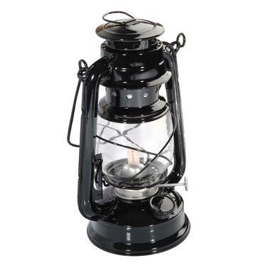 Lampa Naftowa Czarna 24 X 14 X 115 Cm