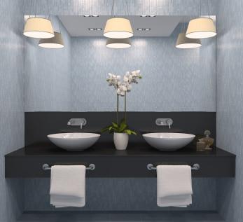 Wiat o w azience co warto wiedzie porady leroy merlin for Luminaire salle de bain plafond