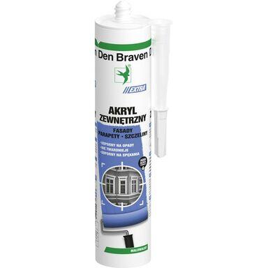 Akryl zewnętrzny ACRYL-EXTRA 280 ml Biały DEN BRAVEN