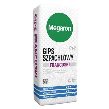 Gips szpachlowy FRANCUSKI GS-2 20 kg MEGARON