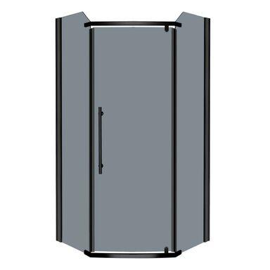 Kabina prysznicowa bez brodzika 90 x 90 cm KERRA PRATO