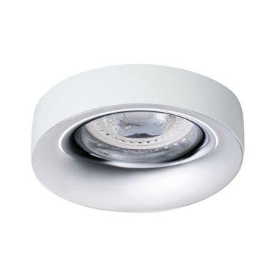 Oprawa stropowa oczko ELNIS IP20 biało-srebrna KANLUX